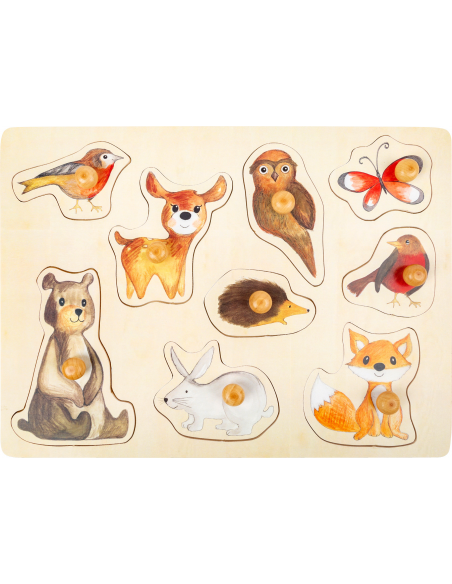 Forest animals puzle